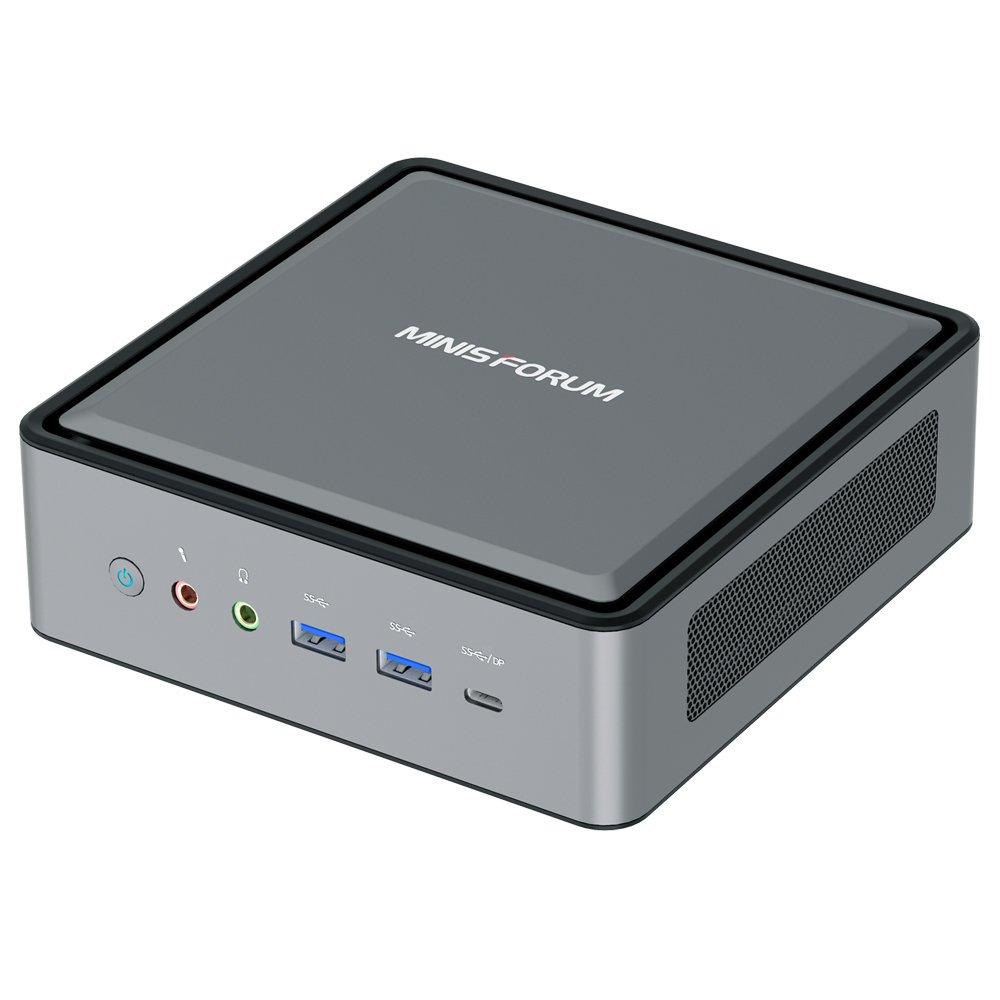 Minisforum HM50 16 Go de RAM 512 Go SSD Ryzen5 4500U WIFI6 2.5Gigabit LAN Mini PC HDMI + DP + Type-C