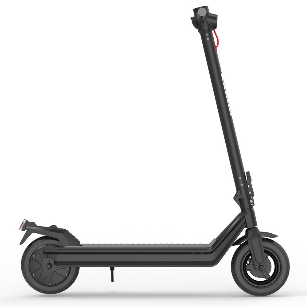 "Kukudel 105 Folding Electric Scooter 10 ""Tire 500W Motor 36V 12.5Ah Battery Max Speed 25km / h LCD Display 32-39km Long Range Aluminium alloy body - Black"