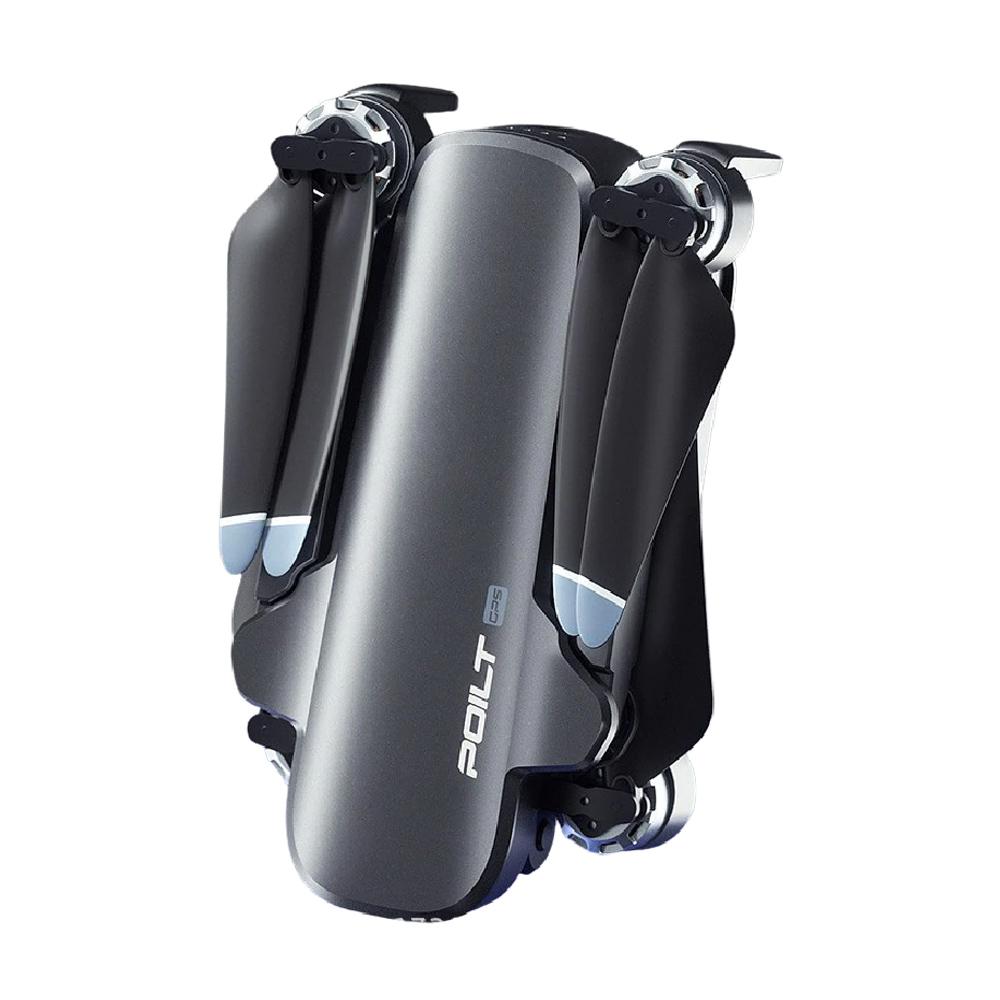 JJRC X17 6K 5G WIFI FPV GPS kefe nélküli összecsukható RC drón 2-tengelyes Gimbal RTF-mel - szürke két elem táskával