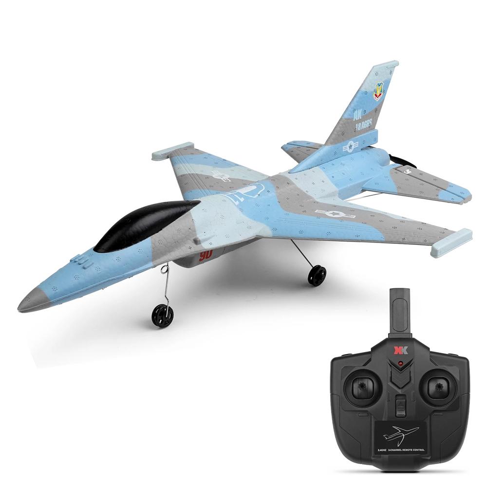 XK A290 F16 Истребитель Радиоуправляемый самолет 320 мм Размах крыла 2.4G 3CH 3D / 6G Система RTF