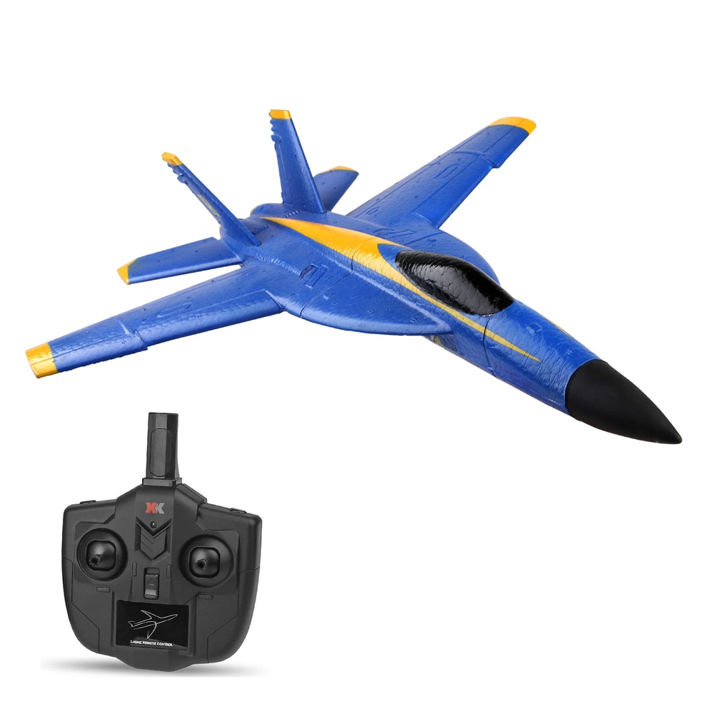 XK A190 F18 2.4 ГГц 2CH RC Самолет 290 мм Размах крыльев Встроенный 6-осевой гироскоп EPP Пена с фиксированным крылом RTF