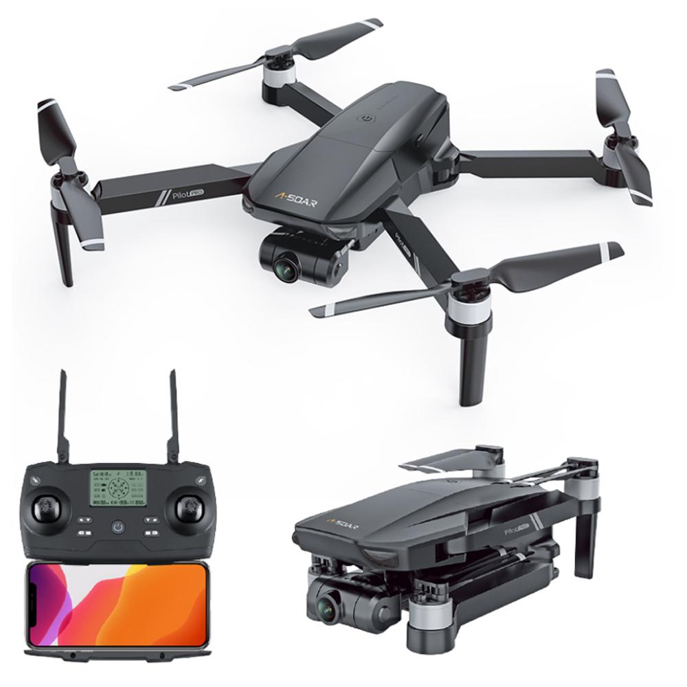 JJRC X19 4K 5G WIFI FPV GPS z podwójnym aparatem 2-osiowy gimbal EIS 25 minut czasu lotu bezszczotkowy RC Drone RTF - jedna bateria