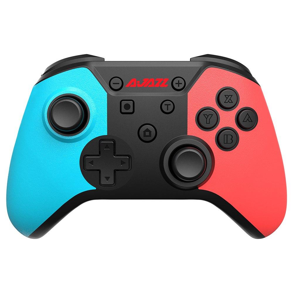 Ajazz AG180 Wireless Gampad kompatibel mit PC Switch Pro/Switch - Rot + Blau