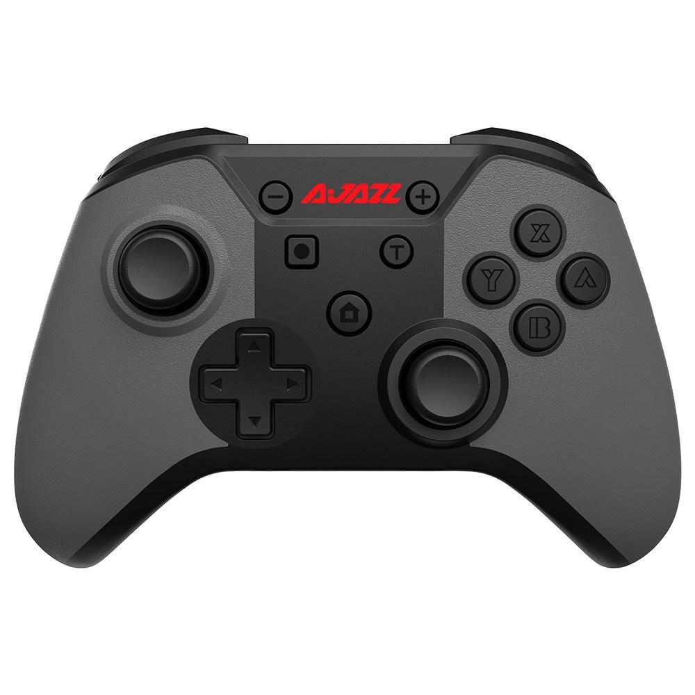 Ajazz AG180 Wireless Gampad Kompatibel mit PC Switch Pro/Switch - Rot Grau