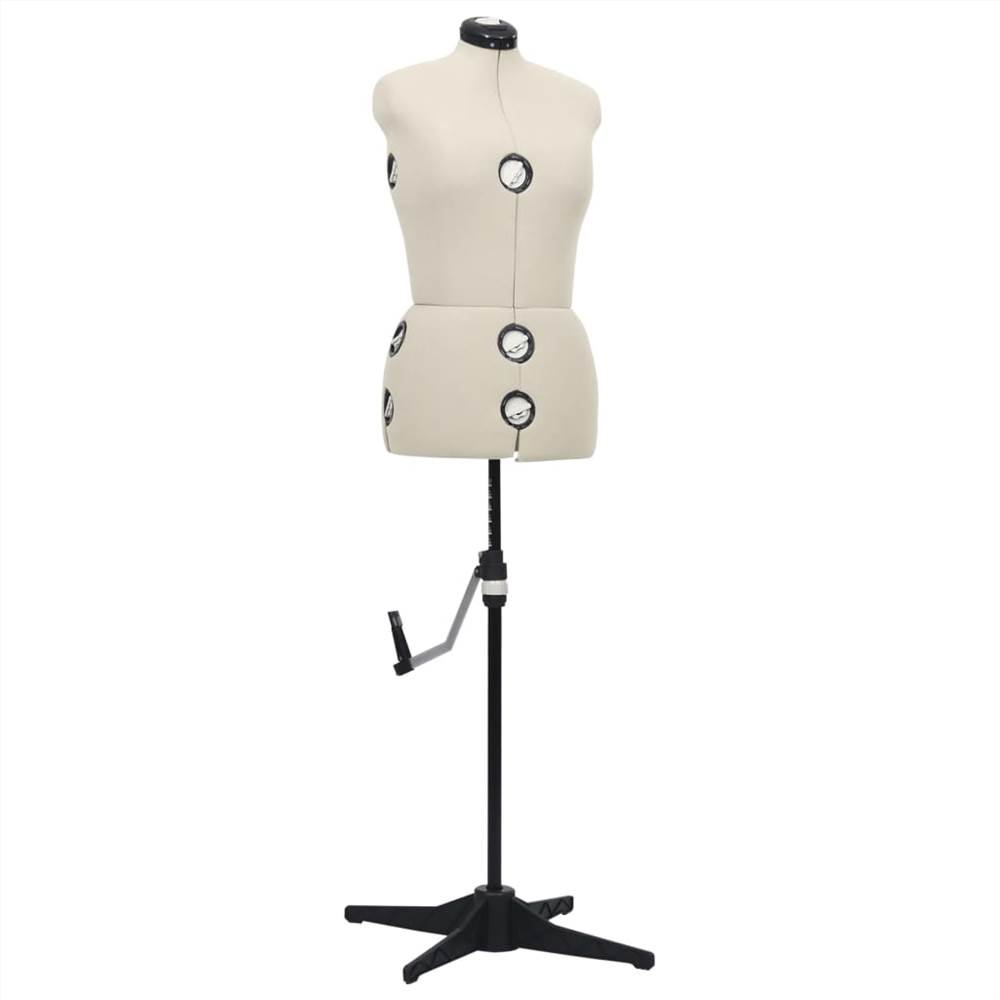 Ρυθμιζόμενη Φόρμα Φόρεμα Γυναικεία Κρέμα M Μέγεθος 40-46