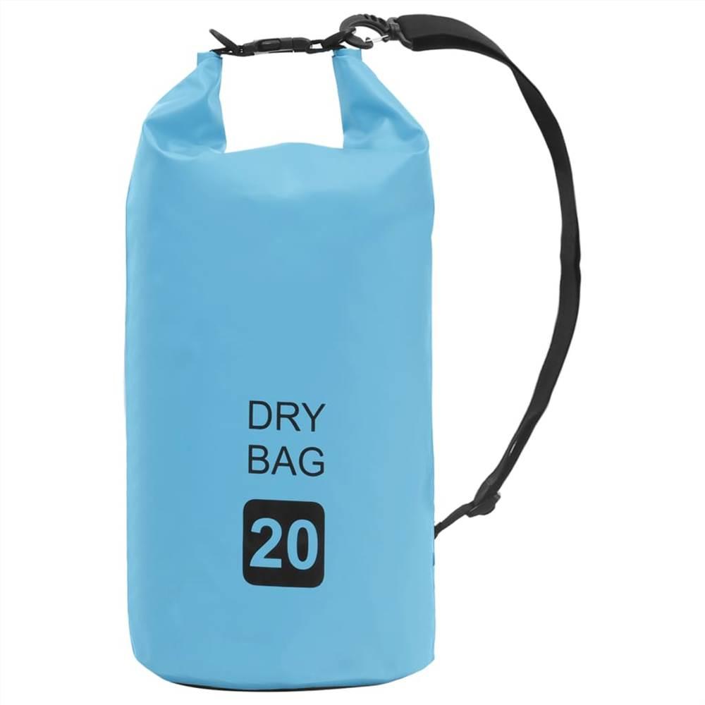 Сухой мешок синий 20 л ПВХ
