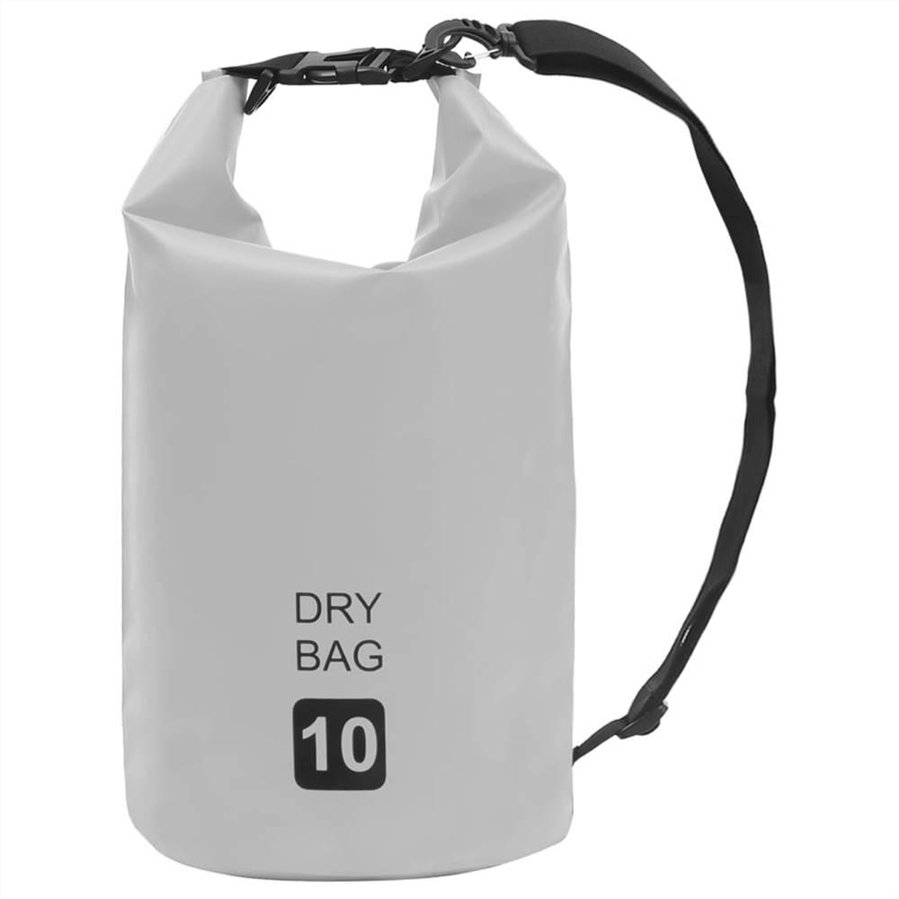 Сухой мешок серый 10 л ПВХ