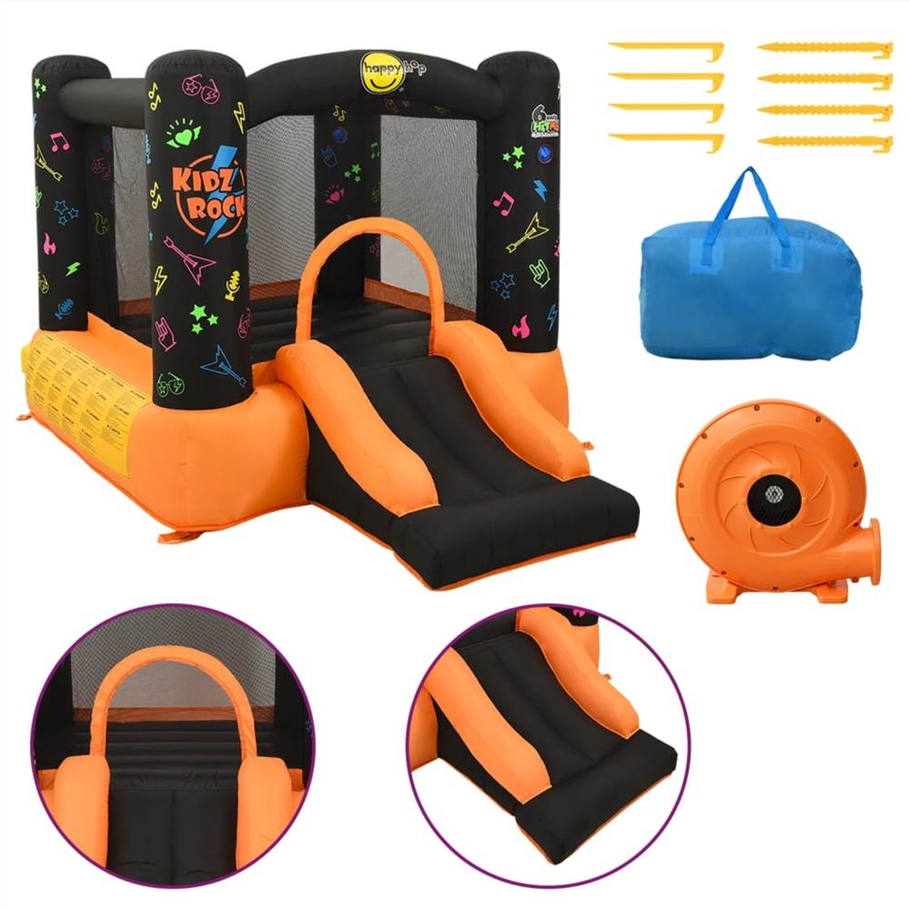Inflatable Bouncer with Slide 210x280x170 cm PVC