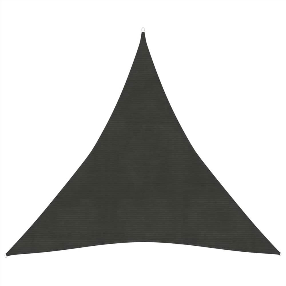 Sunshade Sail 160 g/m² Anthracite 4.5x4.5x4.5 m HDPE