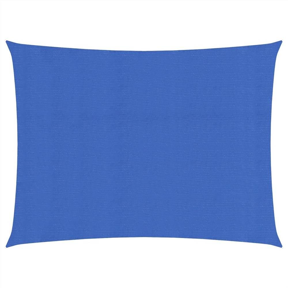 Sunshade Sail 160 g/m² Blue 2x3 m HDPE