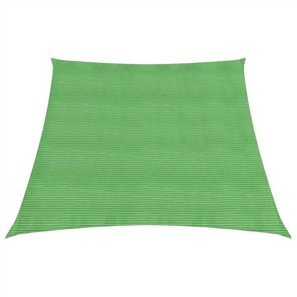 Sunshade Sail 160 g/m² Light Green 4/5x3 m HDPE