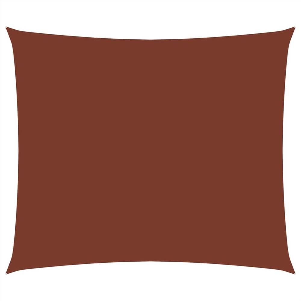 Sunshade Sail Oxford Fabric Rectangular 3.5x5 m Terracotta