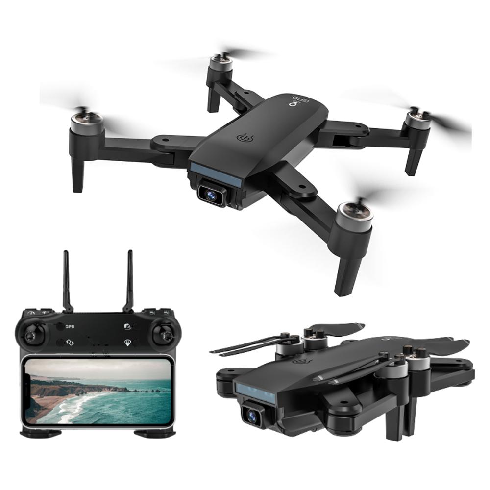 ZLL SG700 MAX 4K kettős kamera GPS 5G WIFI FPV optikai áramlás pozícionálás kefe nélküli RC drón - egy akkumulátor táskával