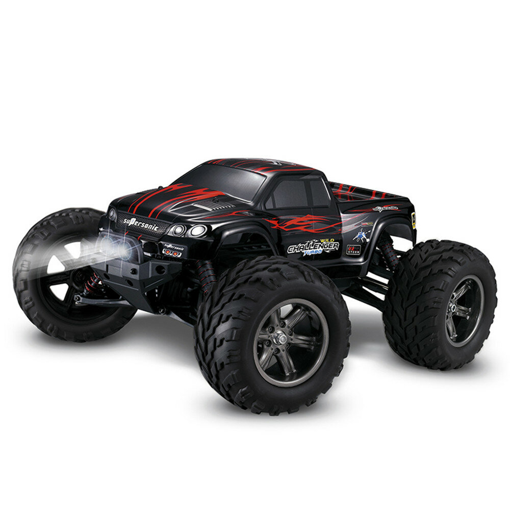 Xinlehong Toys X9115 1/12 2.4G 2WD 42km / h RC Car with LED Light RTR - Red