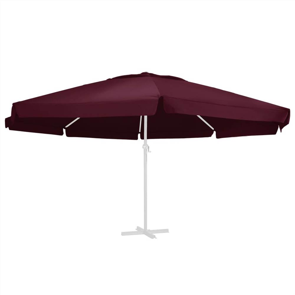 Replacement Fabric for Outdoor Parasol Bordeaux Red 600 cm