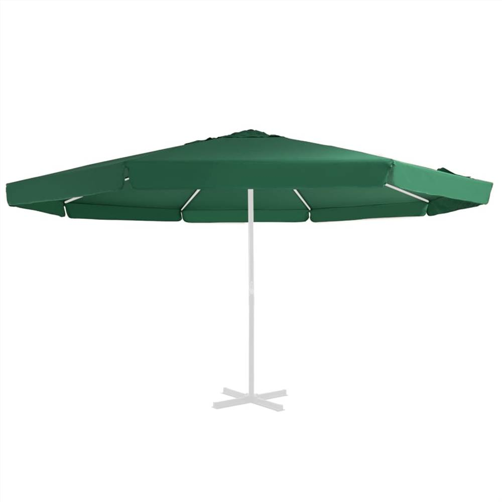 Replacement Fabric for Outdoor Parasol Green 500 cm