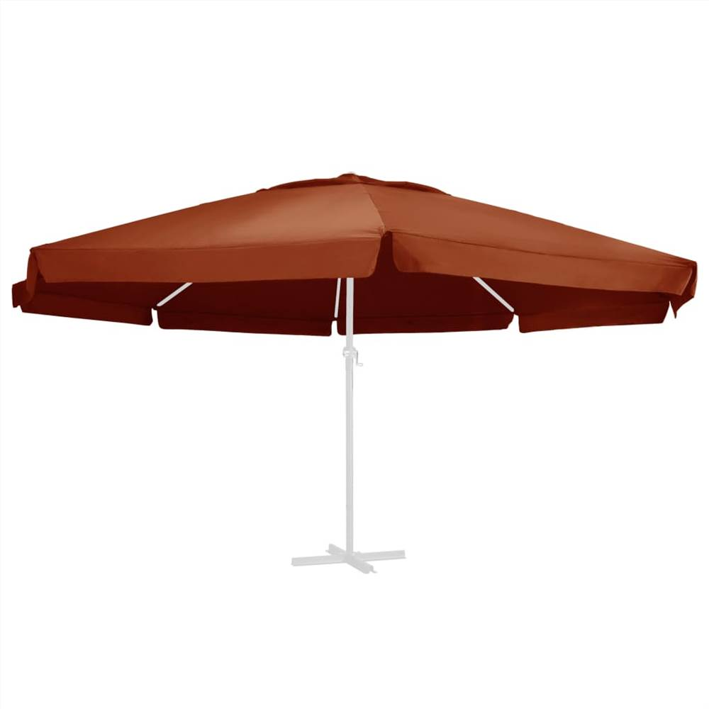 Replacement Fabric for Outdoor Parasol Terracotta 600 cm