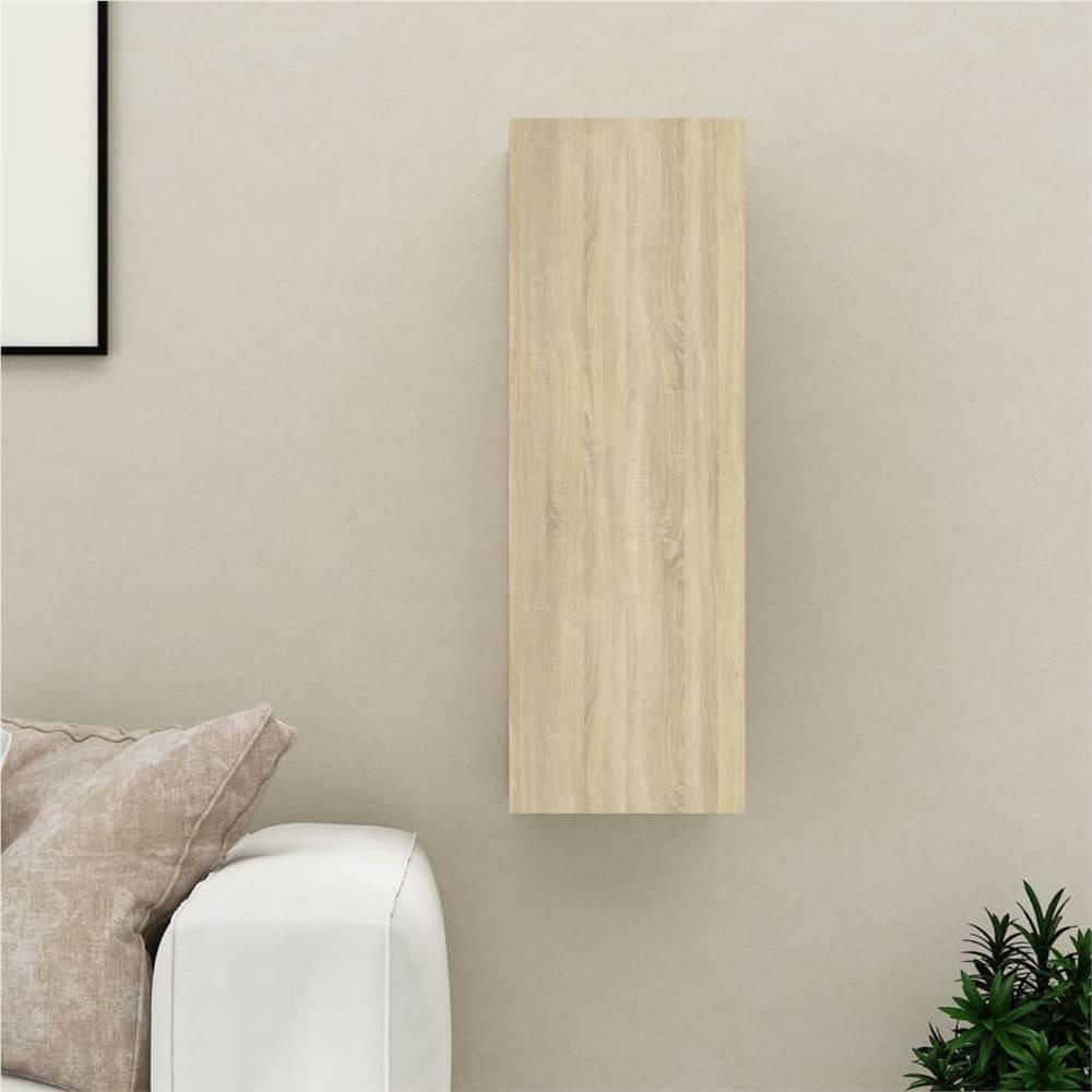 TV Cabinet Sonoma Oak 30.5x30x90 cm Chipboard