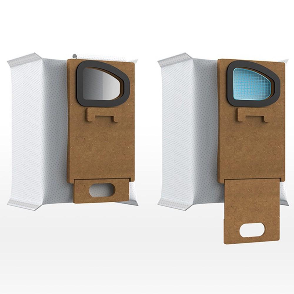 Dust Bag & Hand-held Dust Bag Holder Set (12 Pcs Dust Bag + 1 Pc Holder ) for Roborock H7 Handheld Vaccum Cleaner