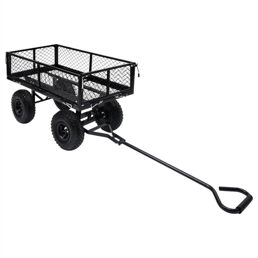 Garden Hand Trolley Black 250 kg