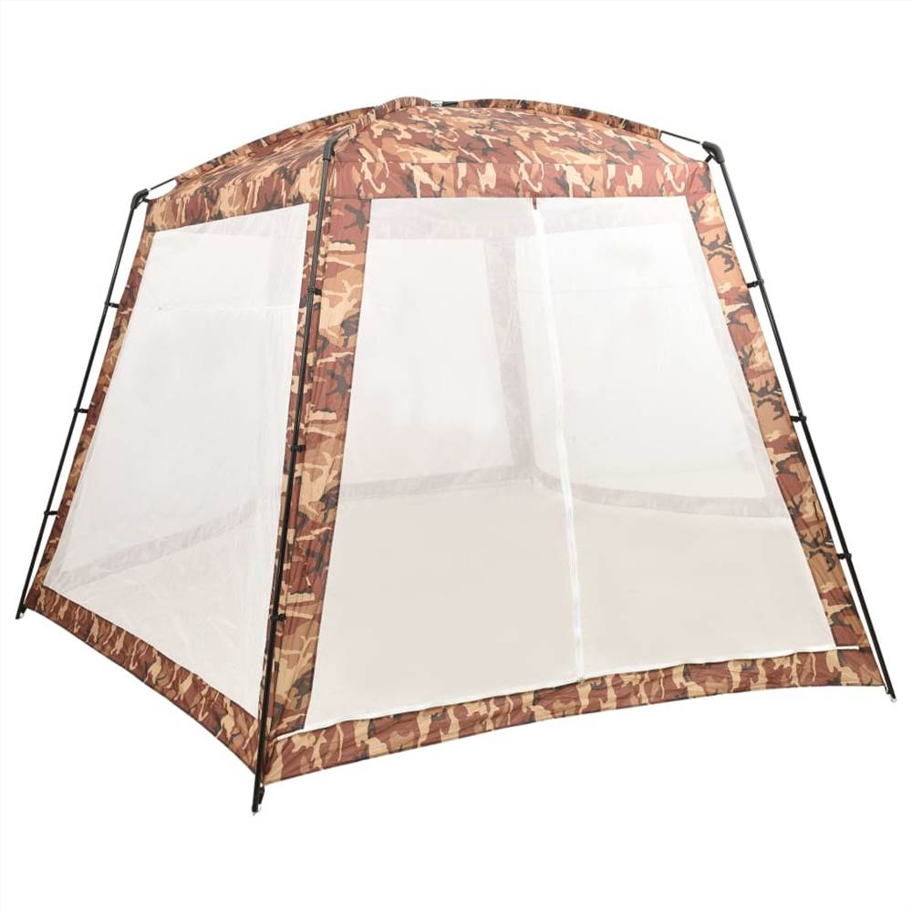Pool Tent Fabric 500x433x250 cm Camouflage