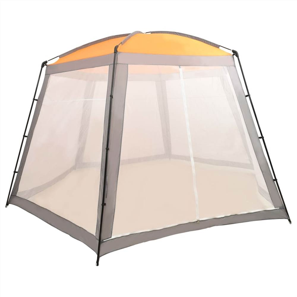 Pool Tent Fabric 500x433x250 cm Grey