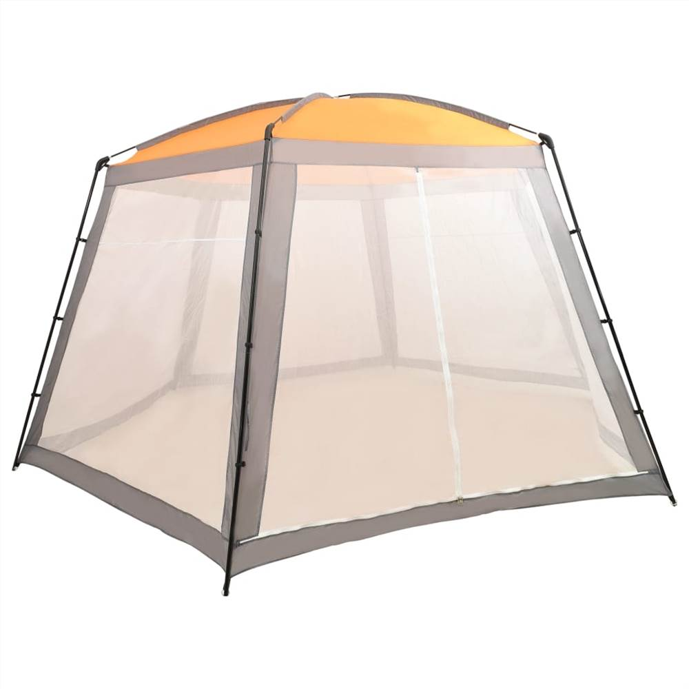 Pool Tent Fabric 590x520x250 cm Grey