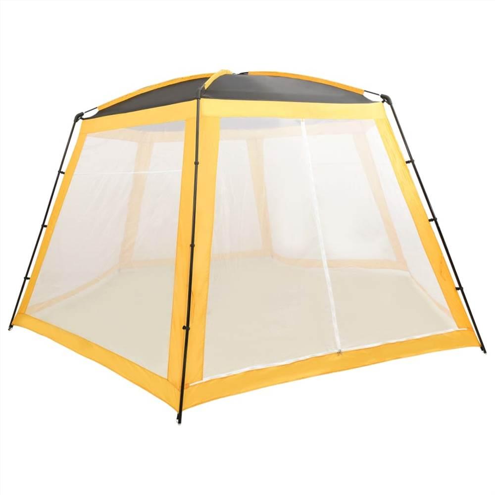 Pool Tent Fabric 590x520x250 cm Yellow