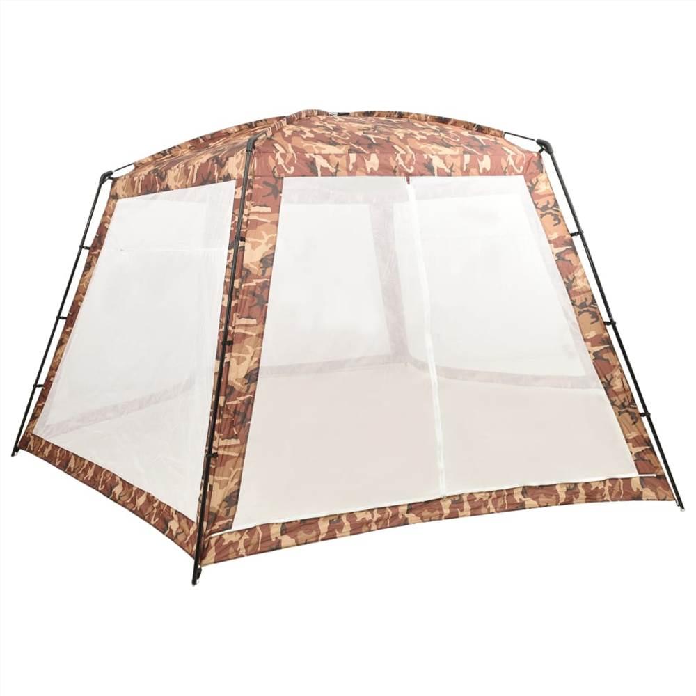 Pool Tent Fabric 660x580x250 cm Camouflage