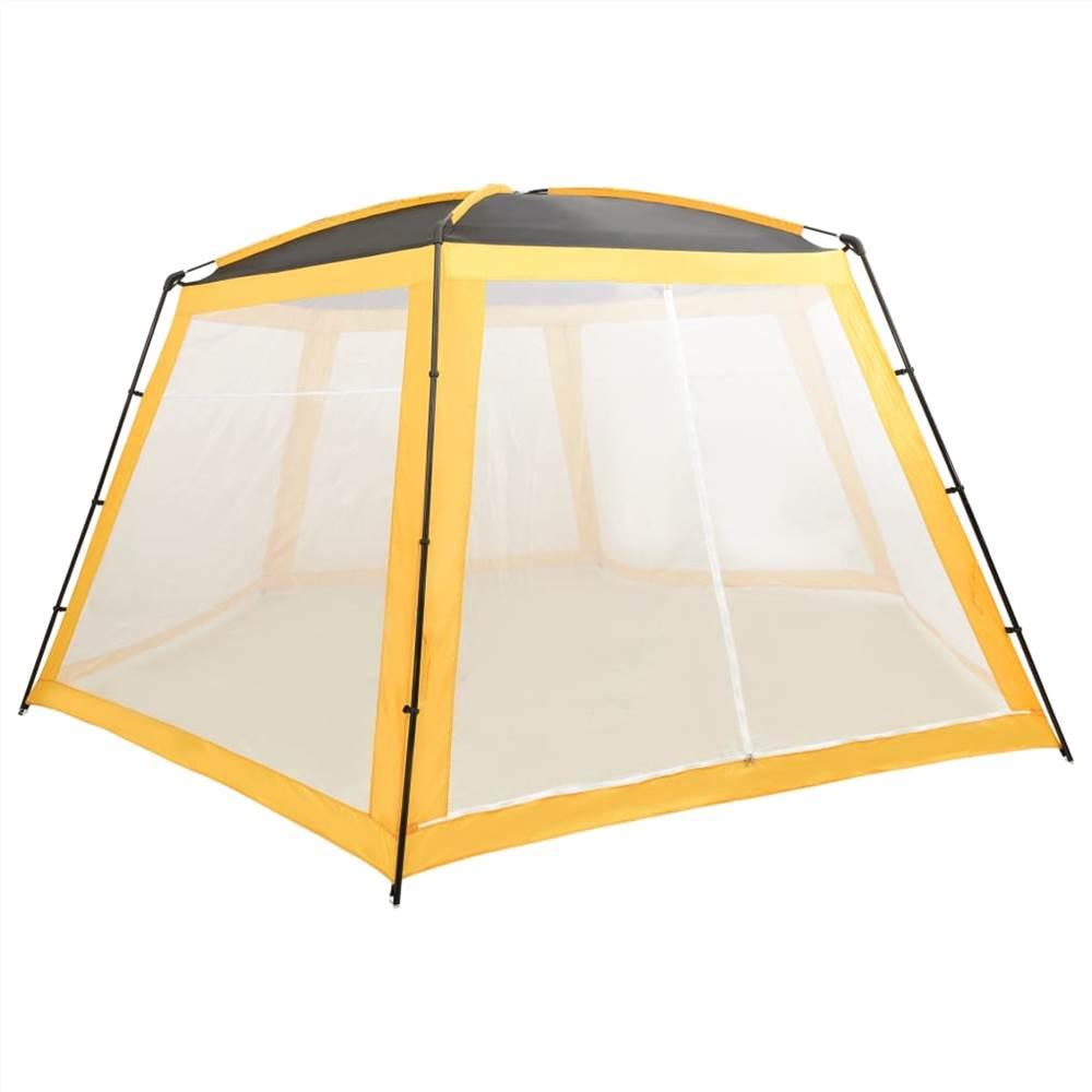 Pool Tent Fabric 660x580x250 cm Yellow