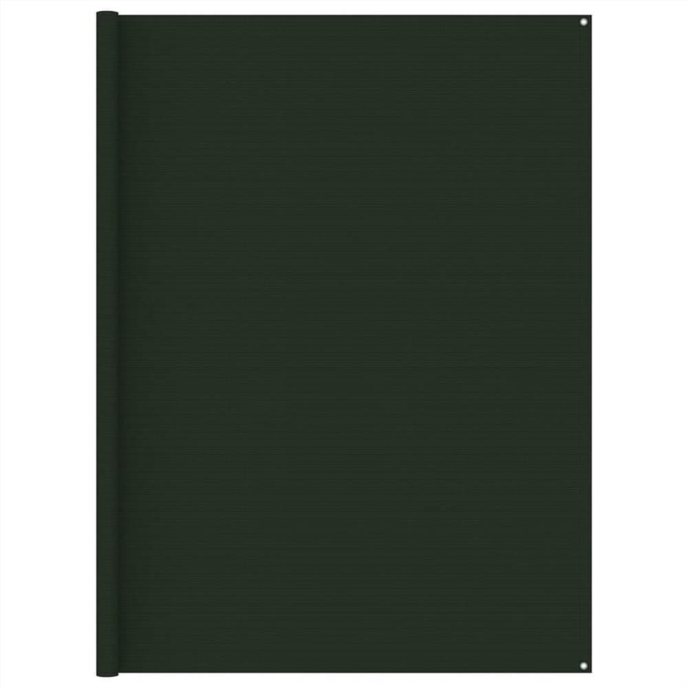 テントカーペット250x250cmダークグリーン