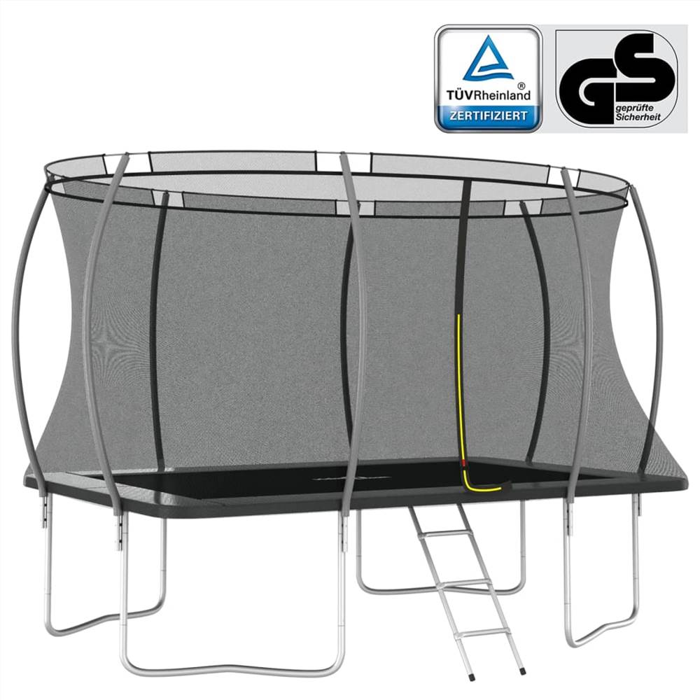 Set Trampoline Rectangulaire 335x244x90 cm 150 kg