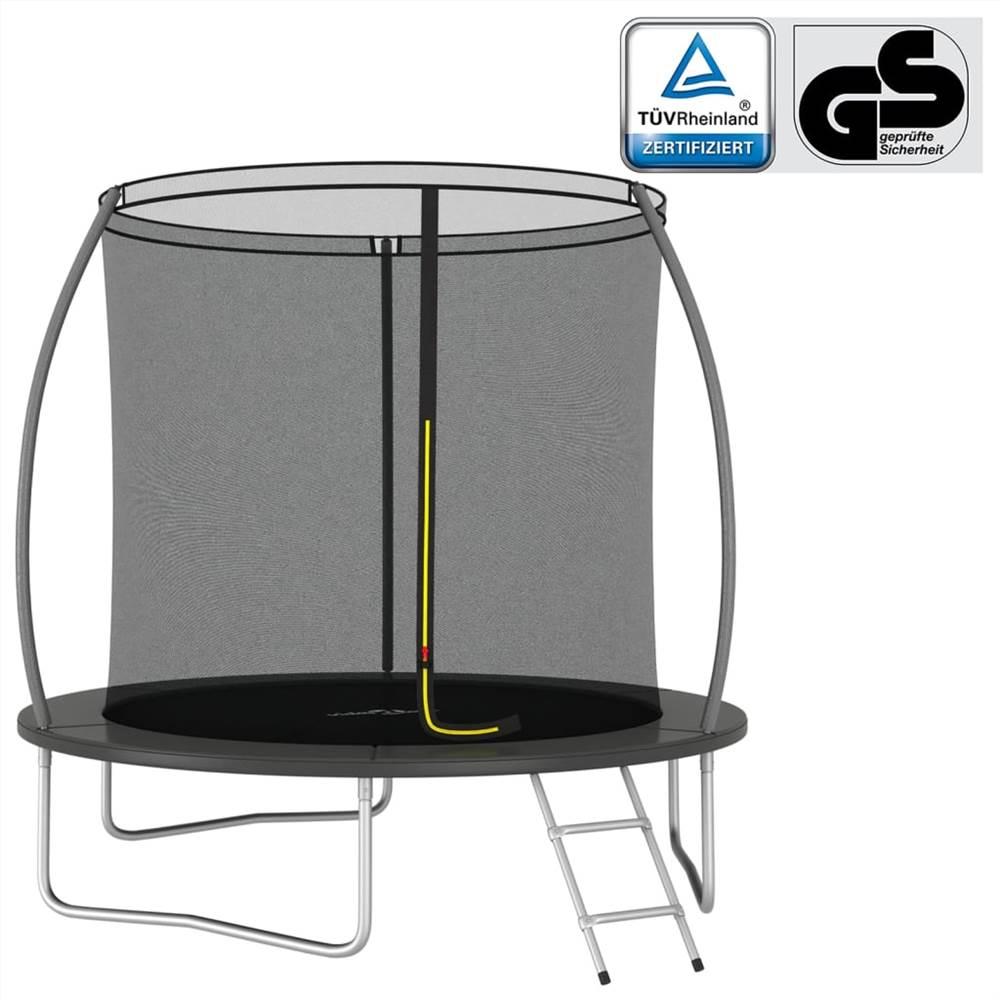 Trampolin-Set Rund 244x55 cm 100 kg
