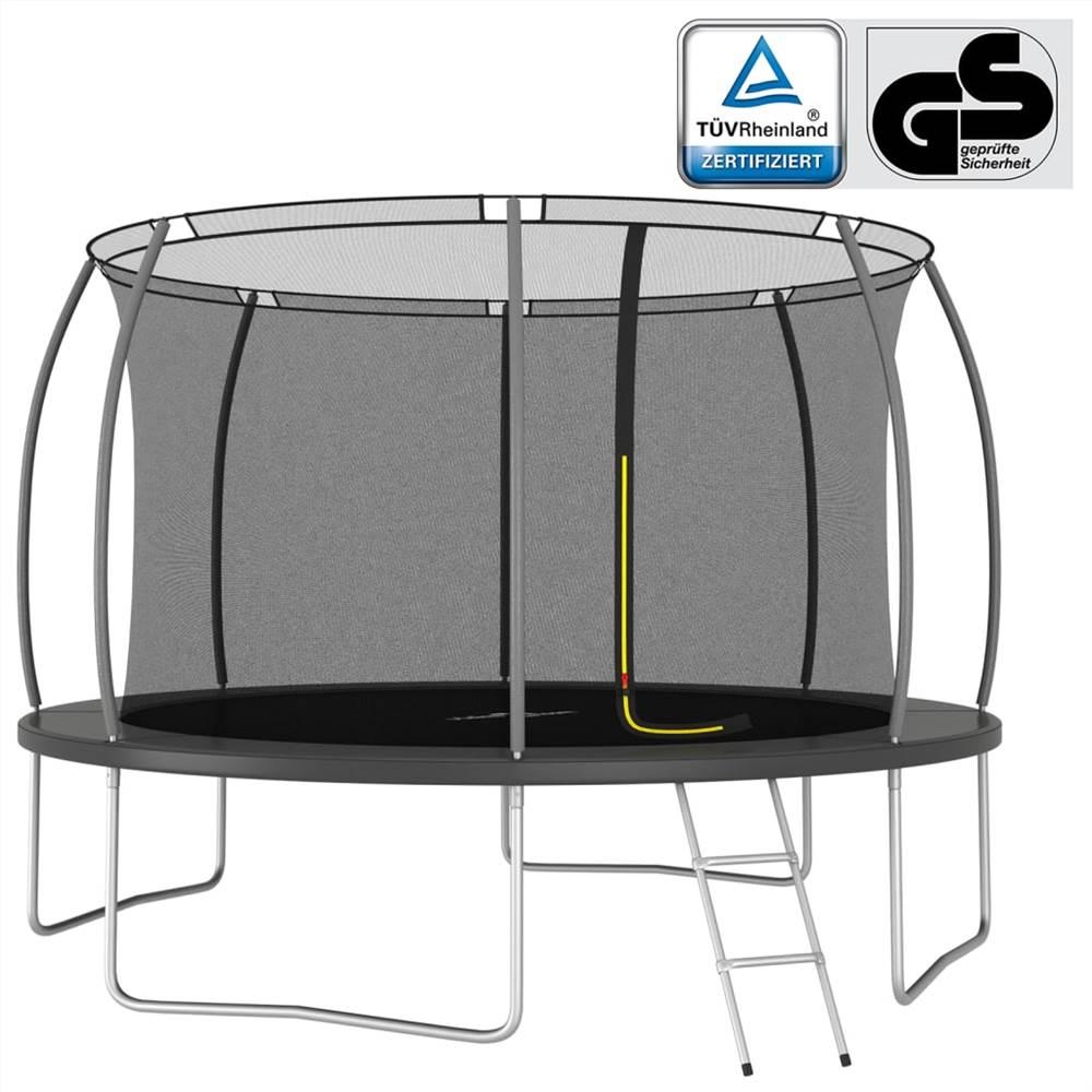 Set Trampoline Rond 366x80 cm 150 kg