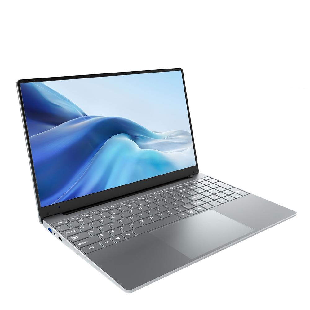 Ноутбуки KUU A10 Процессор Intel Celeron J4125 15.6-дюймовый IPS-экран Офисный ноутбук 8 ГБ ОЗУ 256 ГБ SSD Клавиатура с подсветкой Windows 10 - серебристый