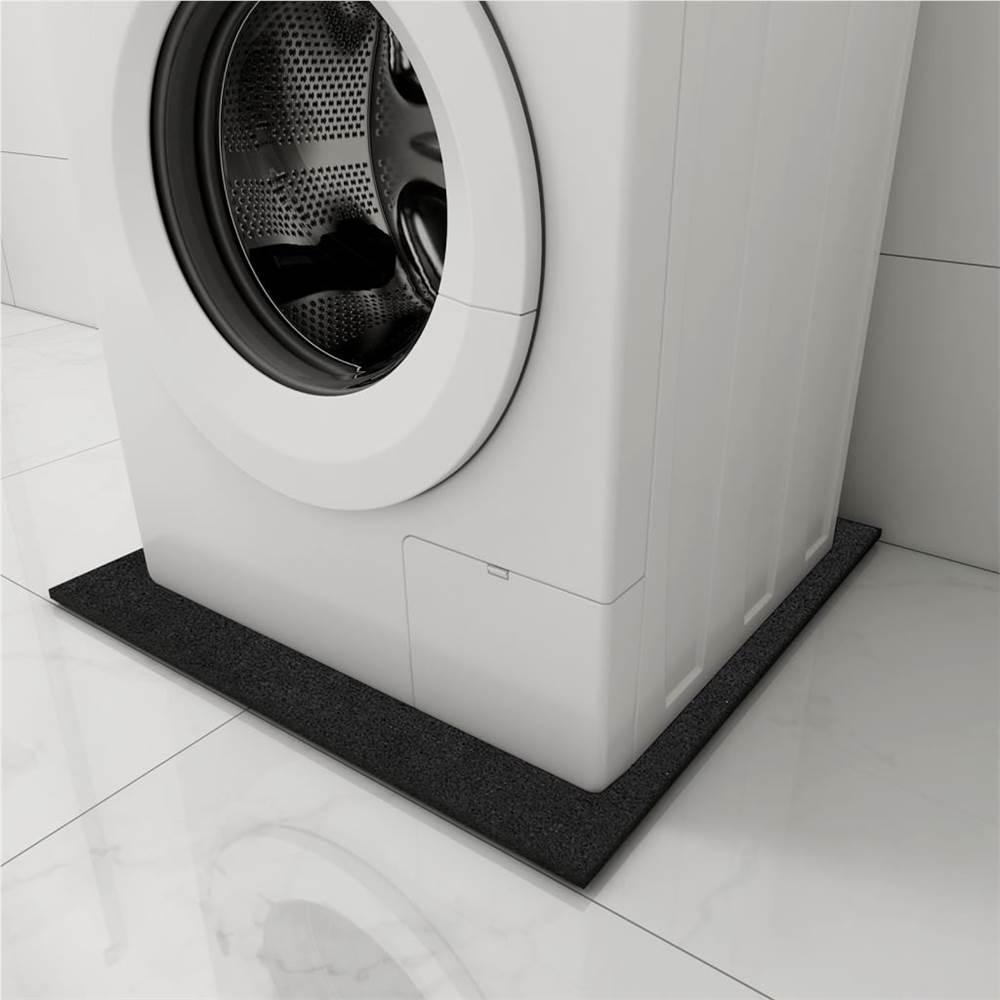 Tapis Lave-Linge Anti-vibration Noir 60x60x1 cm