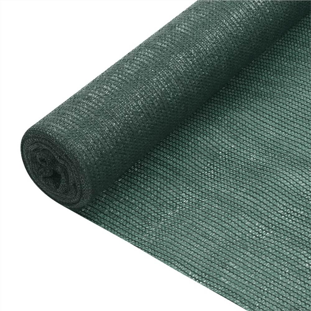 Sichtschutznetz Grün 1,8x50 m HDPE 75 g/m²