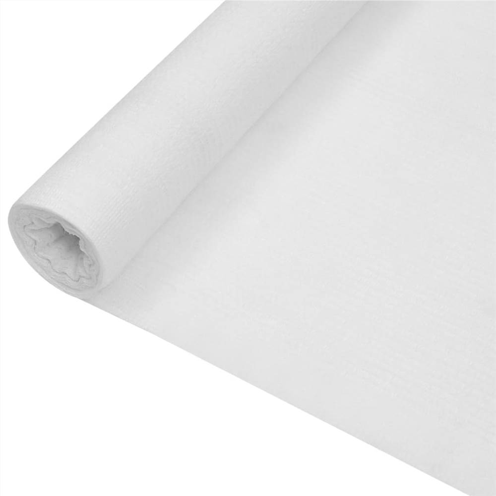 Sichtschutznetz Weiß 1,2x25 m HDPE 150 g/m²