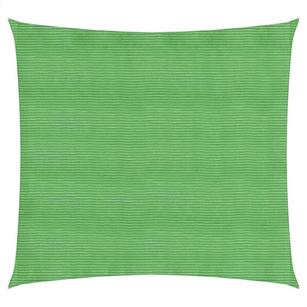 Sonnensegel 160 g/m² Hellgrün 2,5x2,5 m HDPE