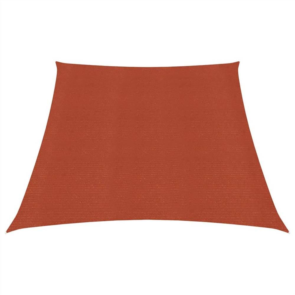 Sonnensegel 160 g/m² Terracotta 3/4x2 m HDPE