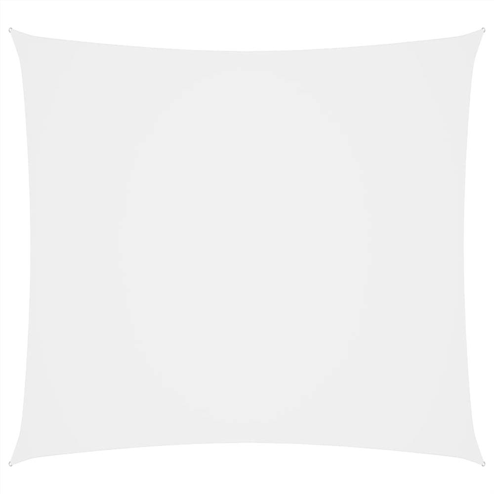 Sunshade Sail Oxford Fabric Rectangular 2.5x3 m White
