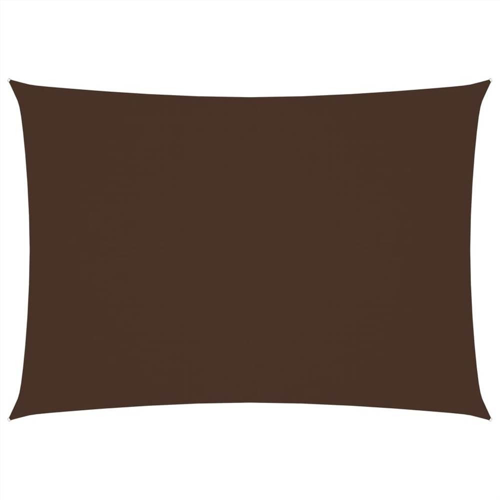 Sunshade Sail Oxford Fabric Rectangular 2.5x4.5 m Brown