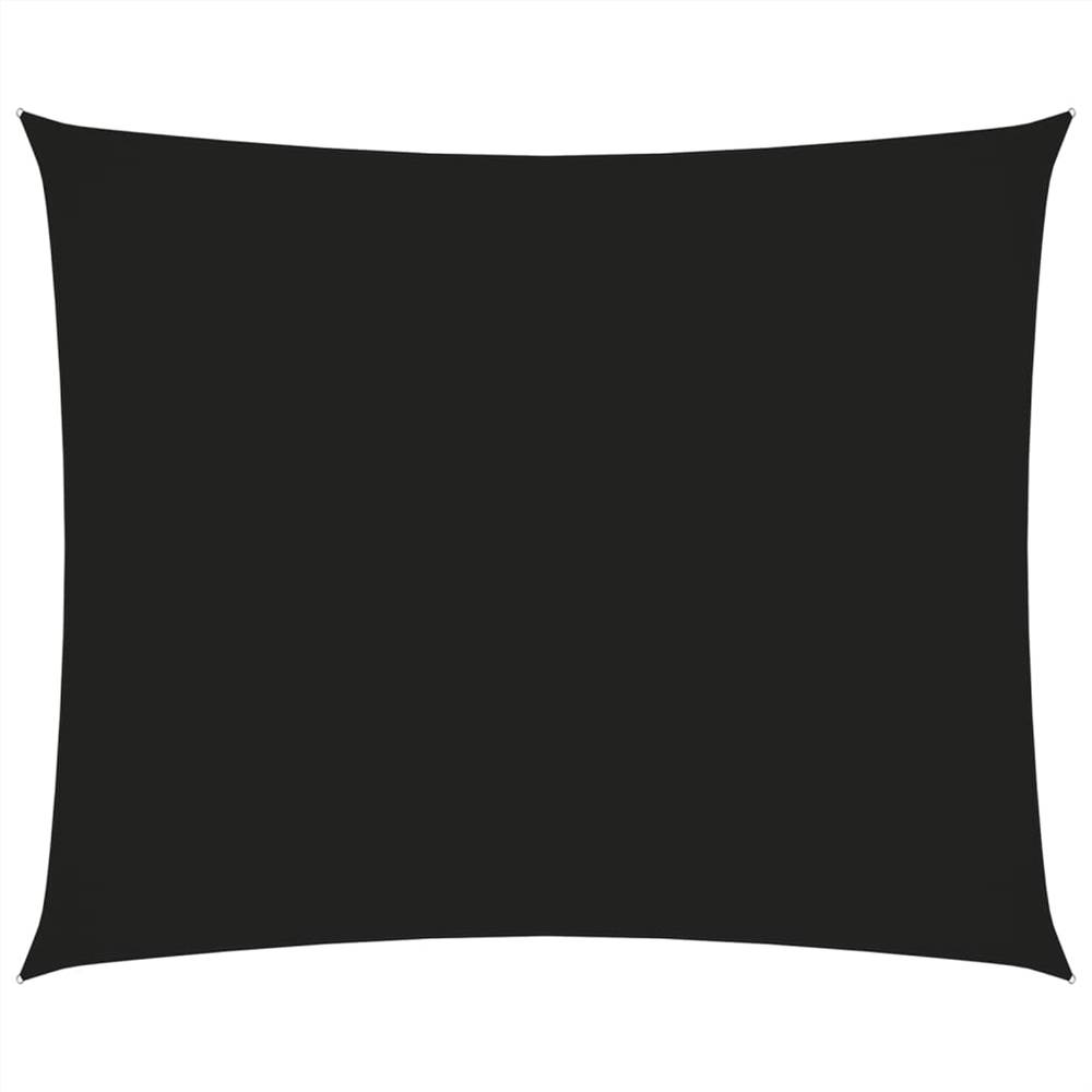 Sunshade Sail Oxford Fabric Rectangular 3.5x4.5 m Black