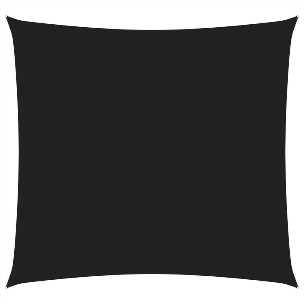 Parasol Voile Oxford Tissu Carré 2x2 m Noir