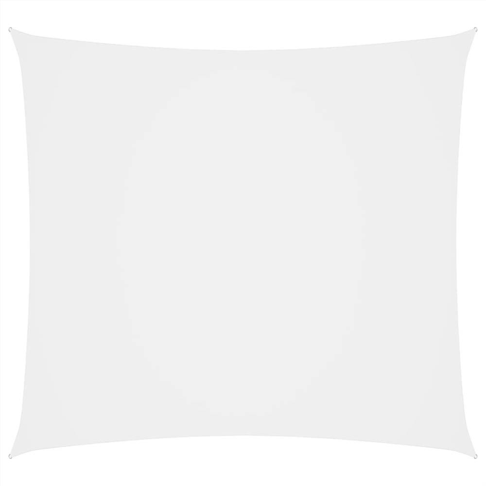Sunshade Sail Oxford Fabric Square 2x2 m White