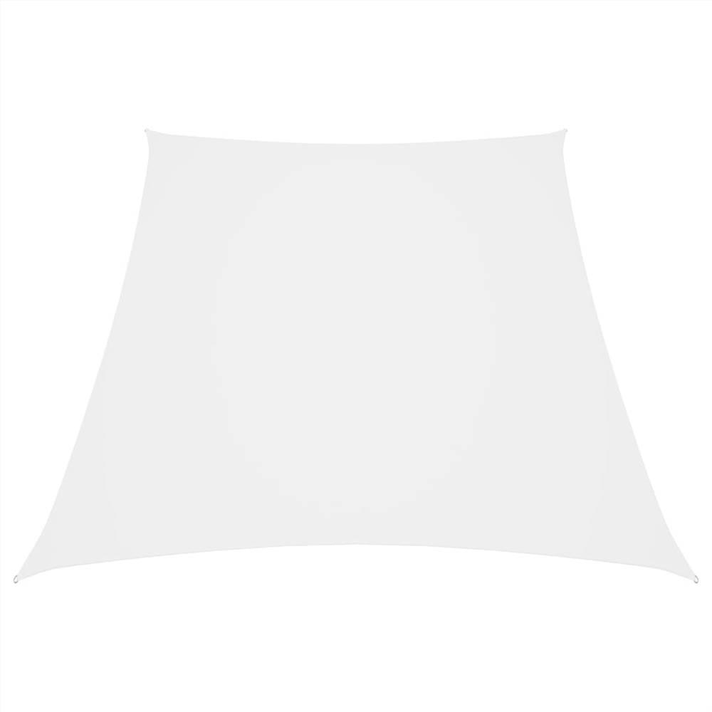 Sunshade Sail Oxford Fabric Trapezium 4/5x3 m White