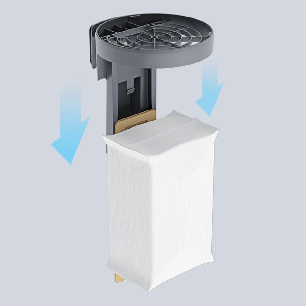 Sac à poussière 3 pièces pour station d'aspiration automatique Roborock S7 à vide automatique