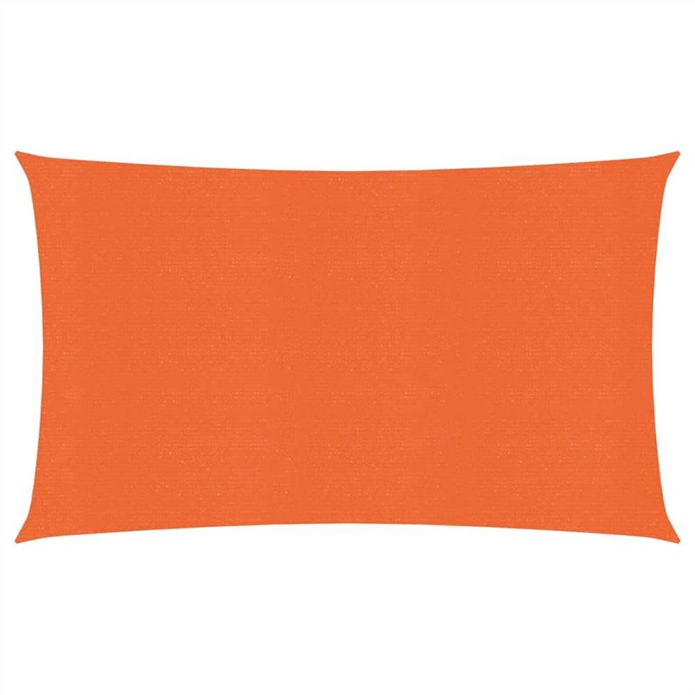 Sonnensegel 160 g/m² Orange 2,5x5 m HDPE