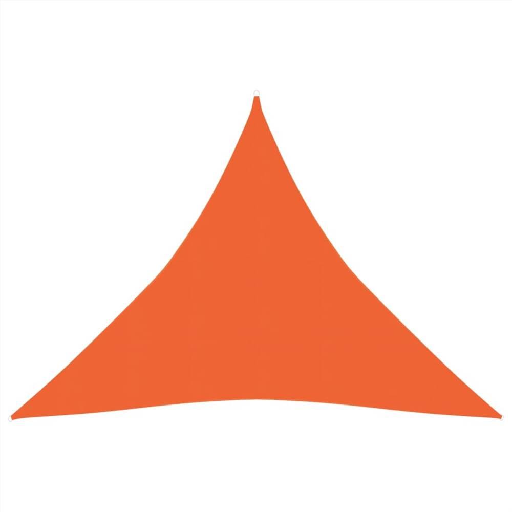 Sunshade Sail 160 g/m² Orange 4x4x4 m HDPE