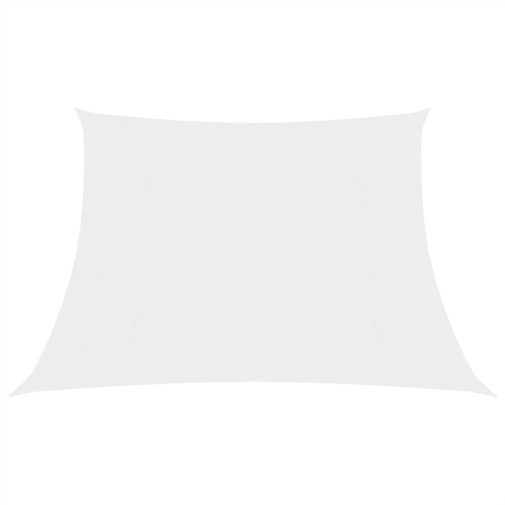 Sonnensegel 160 g/m² Weiß 3/4x3 m HDPE